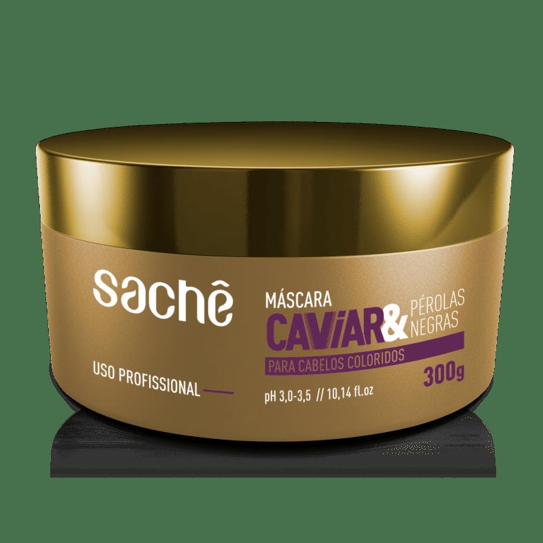Máscara Caviar e Pérolas Negras 300g