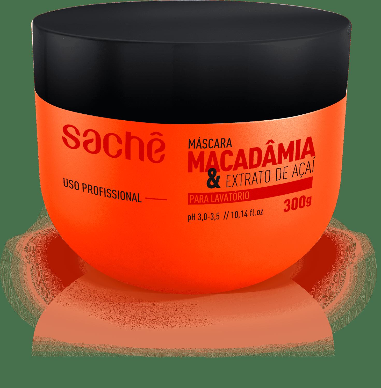 Máscara Macadâmia & Açaí 300g