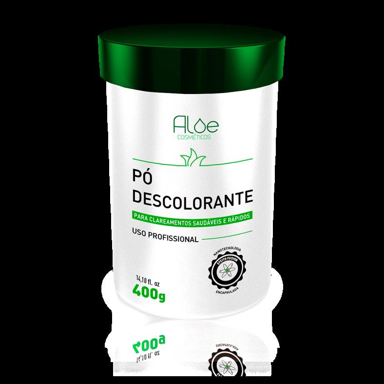 Pó Descolorante Aloe Cosméticos 400g