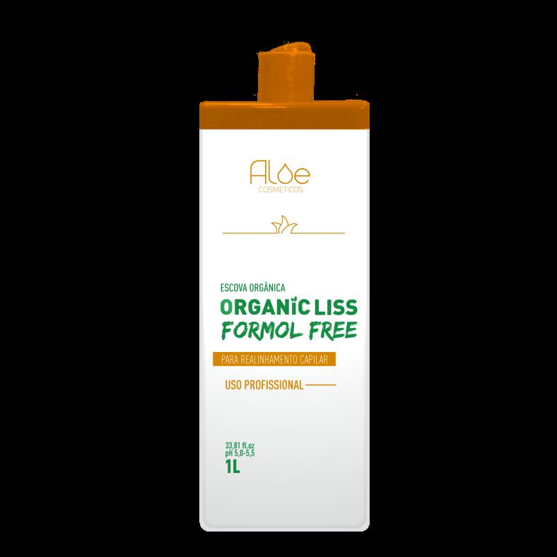 Progressiva Orgânica sem Formol Aloe Cosméticos 1L