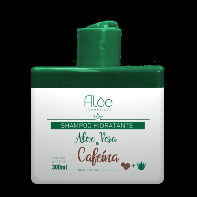 Shampoo Aloe Vera & Cafeína 300ml