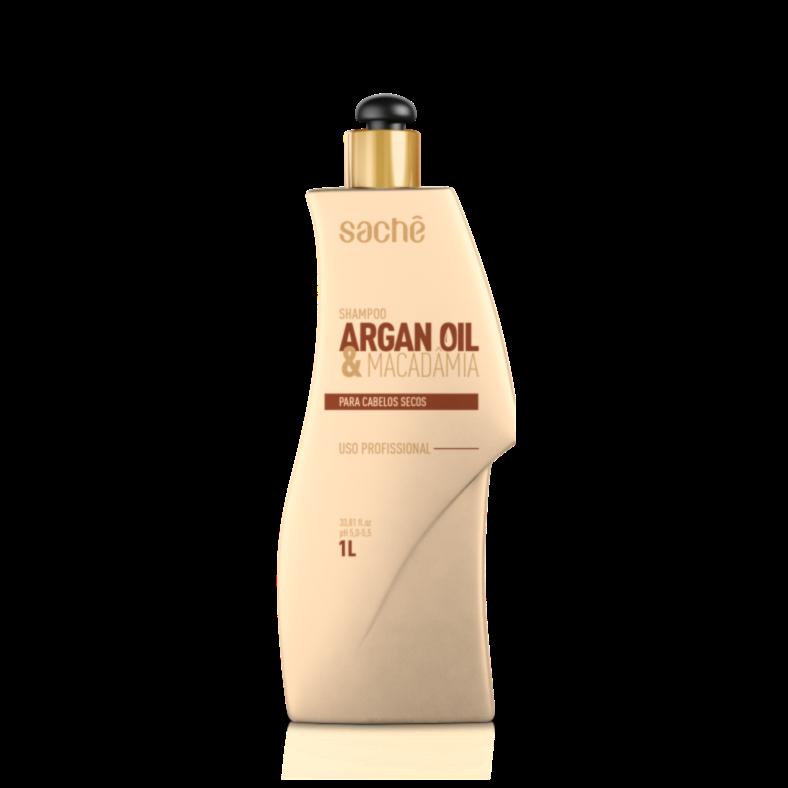 Shampoo Argan e Macadâmia 1L