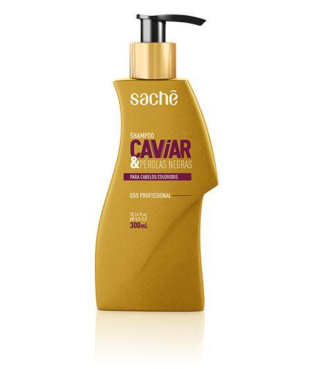 Shampoo Caviar & Pérolas Negras 300ml