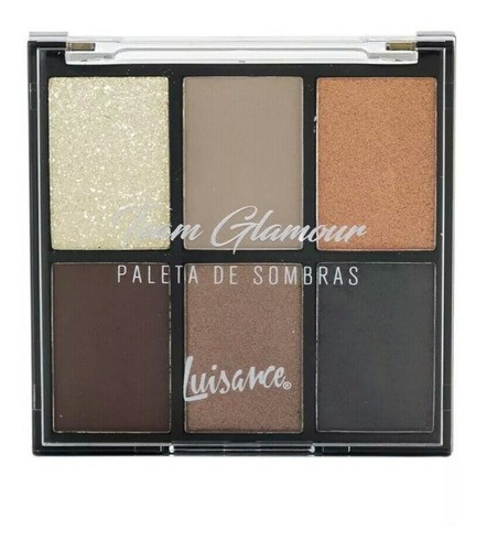 Paleta Contorno/iluminador Luisance Team Glamour - L8003