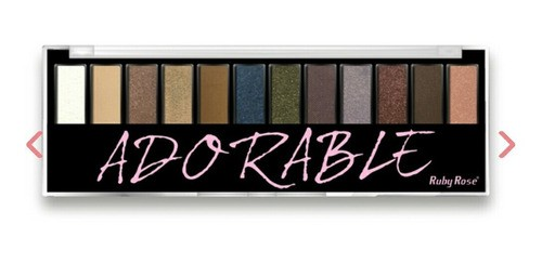 Paleta De Sombras Adorable Da Ruby Rose Hb9909