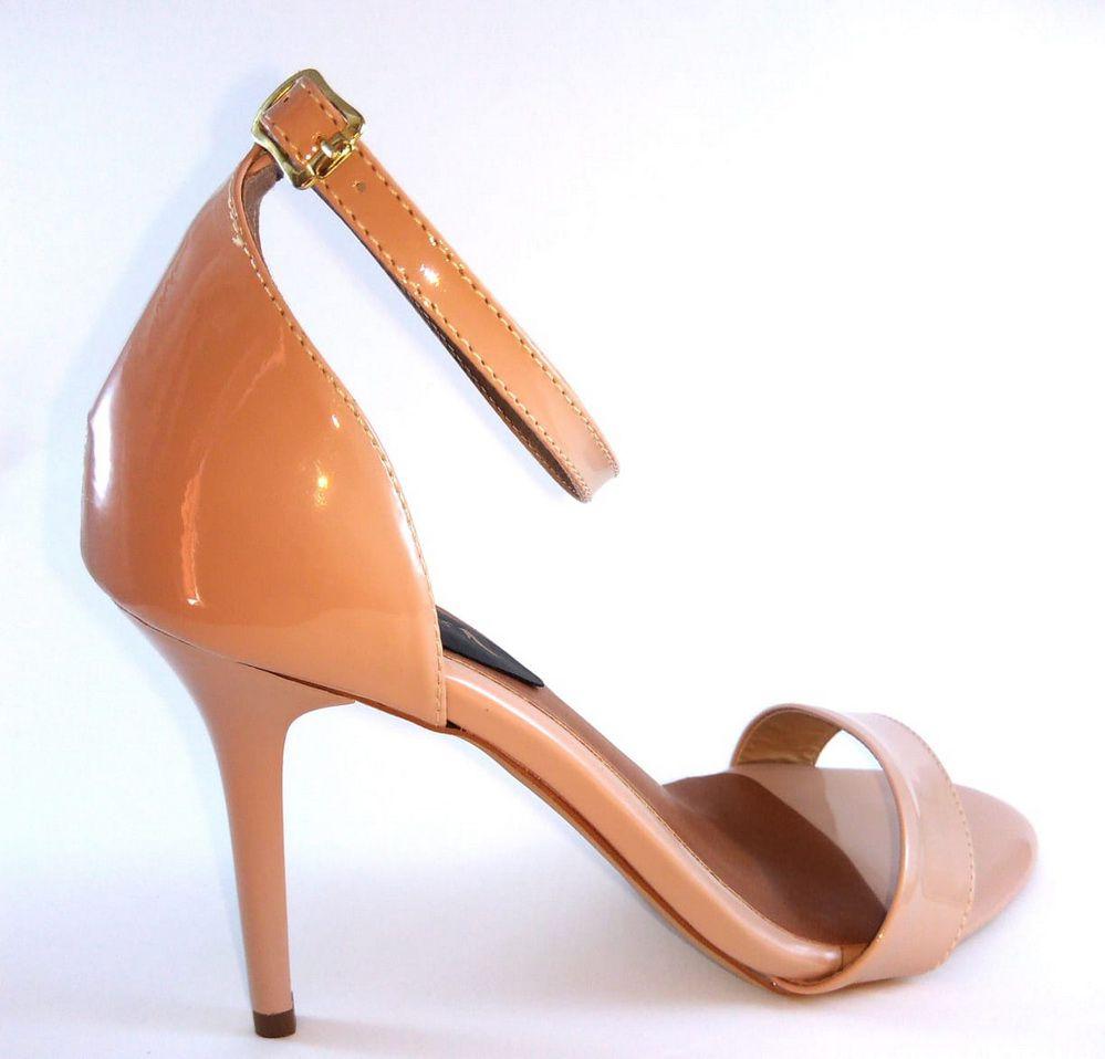 Sandália AKCalçados Salto medio fino