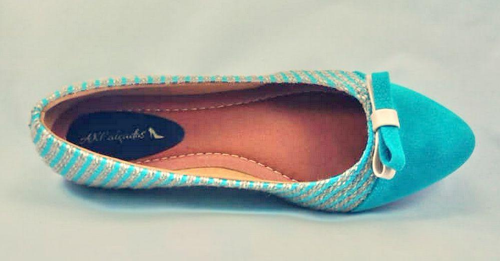 Sapatilha Azul Royal  AKCalçados