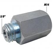 """ADAPTADOR M14 p/ 5/8"""" - AUTOCRAZY"""