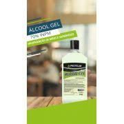 Álcool Gel 430g - Higienização de Mãos e Superfícies 70% - Protelim