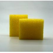 Aplicador para Descontaminação de Vidros - Amarelo - 100x80x50mm - Toolsystem