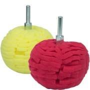 Bolas de Espuma para Polimento Kers -Vermelha Suave