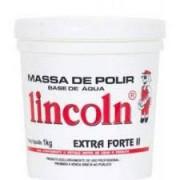 Massa de Polir Mega Forte I - Lincoln - 1Kg