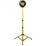 Refletor Holofote Led Max Lum - 50w 400k - Com Tripe Recarregável - Yes Tools / Kers