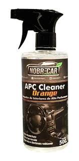 APC Orange - Limpador de Interiores de Alta Performance - 500ml - NOBRECAR