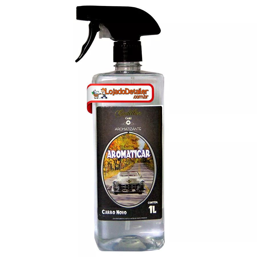 Aromaticar - Aromatizante Carro Novo - Cadillac - 1 L