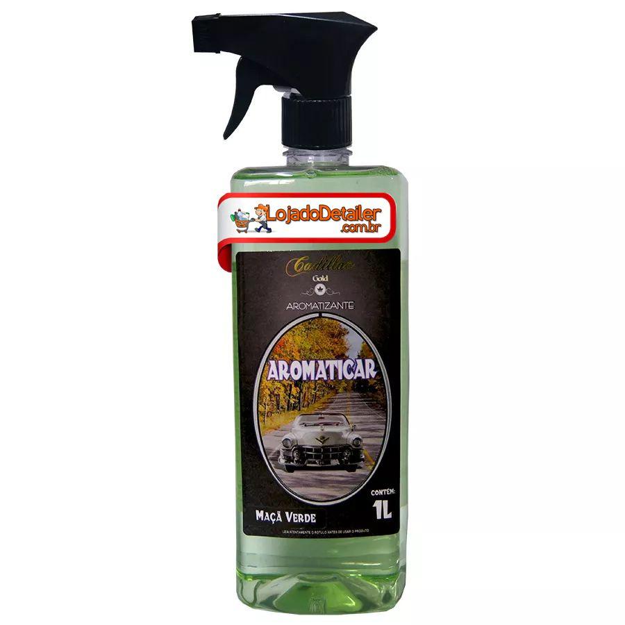 Aromaticar - Aromatizante Maça Verde- Cadillac - 1 L