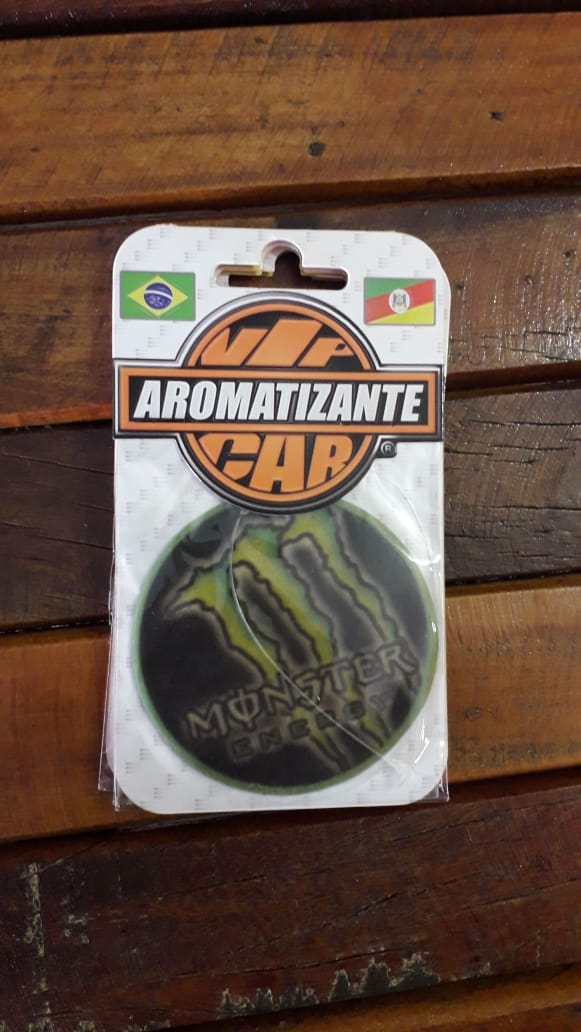 AROMATIZANTE CAR - FRAGRÂNCIA  CONFORT - Modelo MONSTER