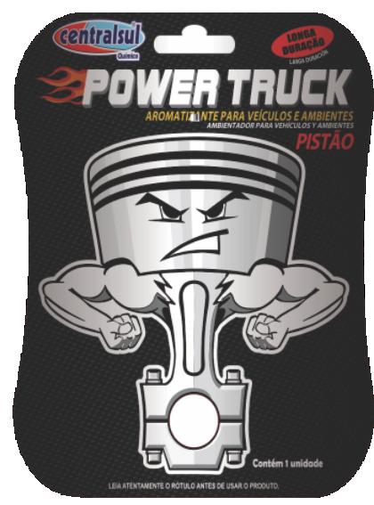 AROMATIZANTE POWER TRUCK PISTAO -CENTRAL SUL -CS0312-5