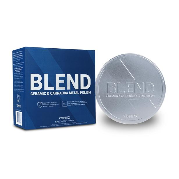 Blend Ceramic & Carnaúba Metal Polish - 150g - VONIXX