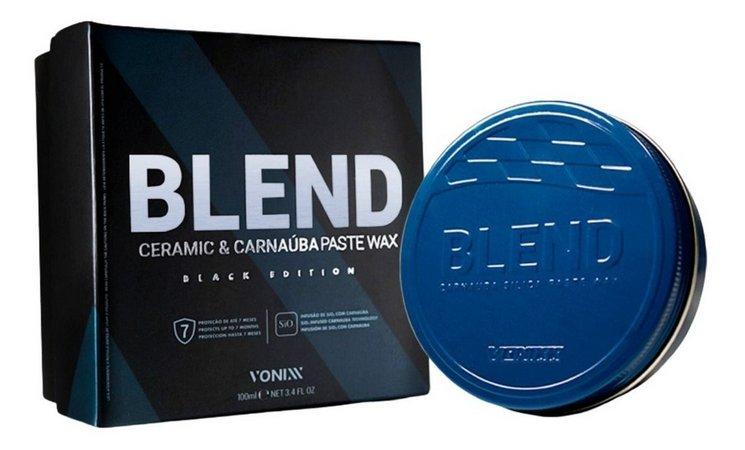 BLEND CERAMIC & CARNAUBA PASTE WAX - BLACK EDITION - 100ml - VONIXX