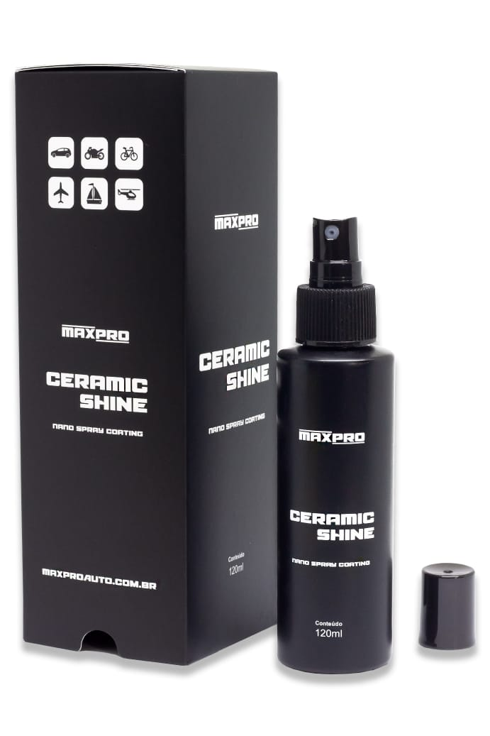 Ceramic Shine Nano Spray Coating - 120ml - MAXPRO
