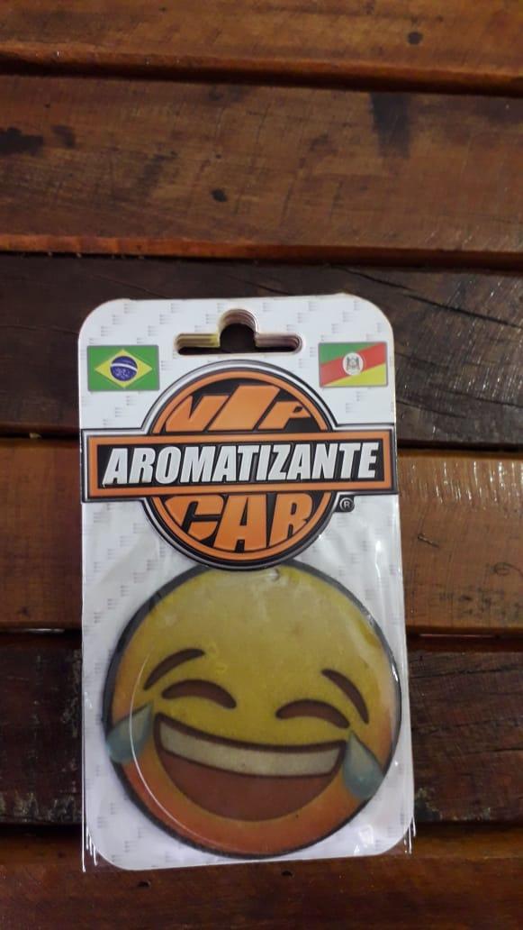 AROMATIZANTE CAR - FRAGRANCIA  CONFORT - Modelo EMOJI CARINHA CHORANDO DE RIR