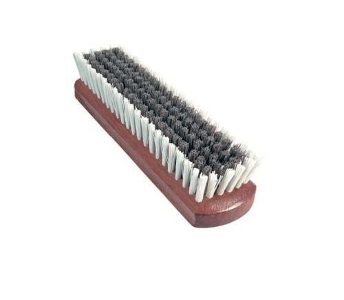 Escova de Cerdas Agressiva p/ Limpeza de Couro e Tecidos - MÉDIA