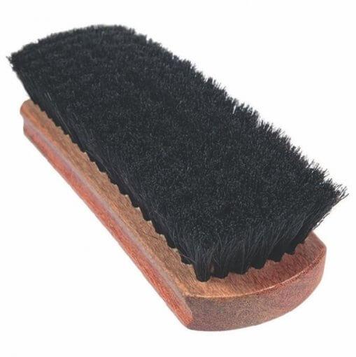 Escova de Cerdas Macias p/ Limpeza de Couro e Tecidos - GRANDE