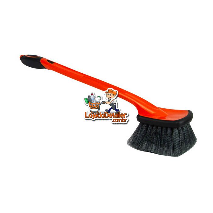 Escova Longa para Limpeza de Rodas - Kers
