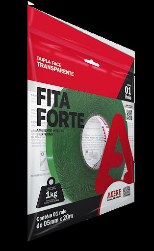 FITA DUPLA FACE - FITA FORTE XT100 - 05mm x 20M - ADERE