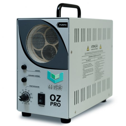 Gerador de ozônio OZ PRO - Oxi-sanitização automotiva - WIER