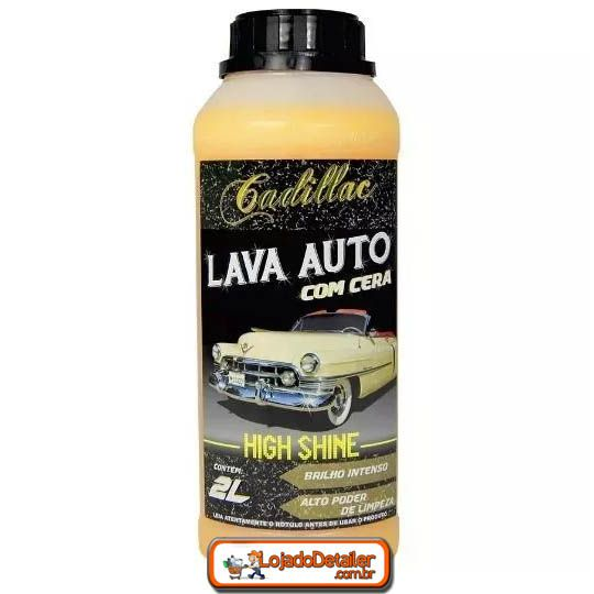 Lava Auto com Cera High Shine Cadillac 2L