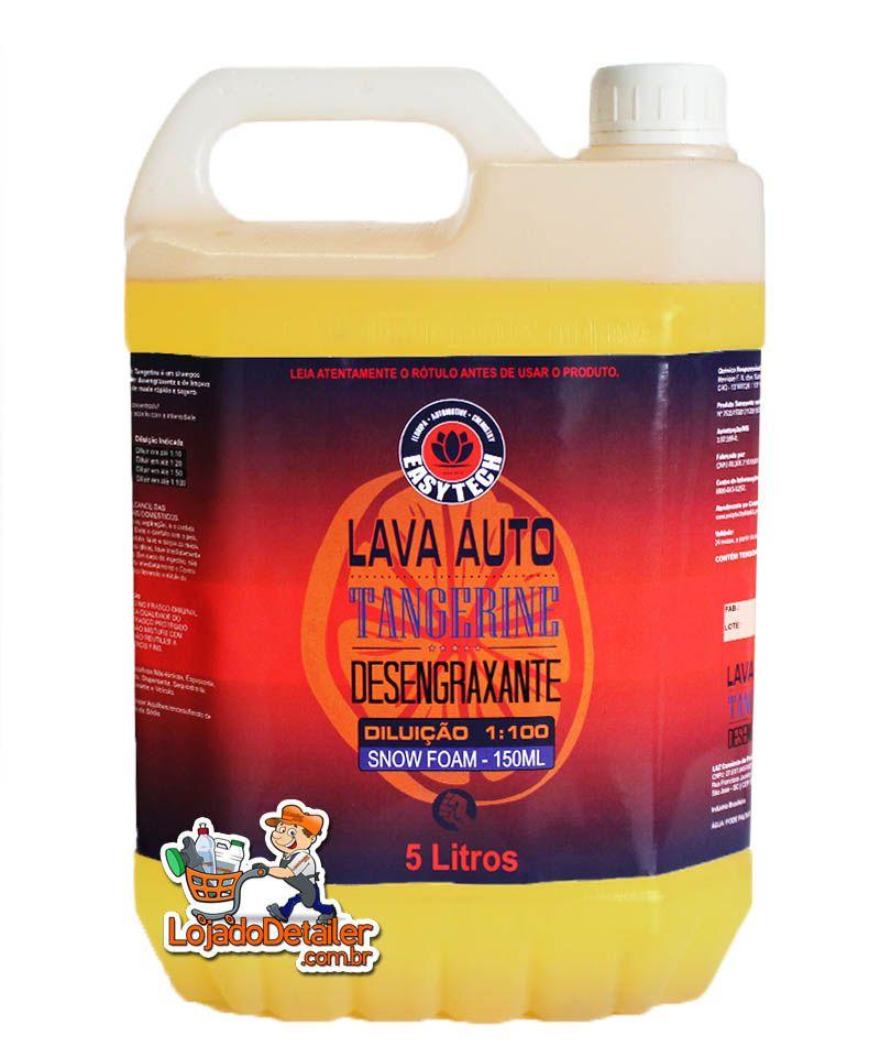 Lava Auto Desengraxante Tangerine - 1:100 Super Concentrado - 5L - EasyTech