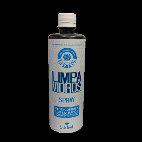 Limpa vidros Spray – Desengordurante – 500ml – Easytech