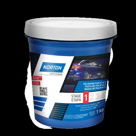 MASSA DE POLIR Nº 2 - ETAPA 1 - 1kg - NORTON