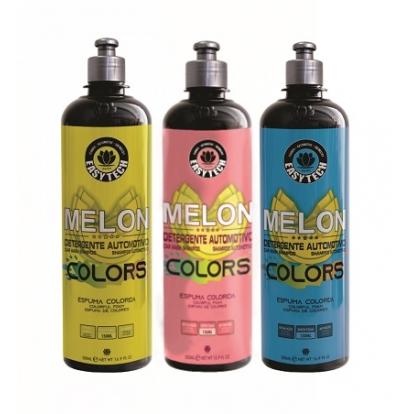 Melon Colors - Detergente Automotivo Neutro - Espuma Colorida - 500ml - EasyTech