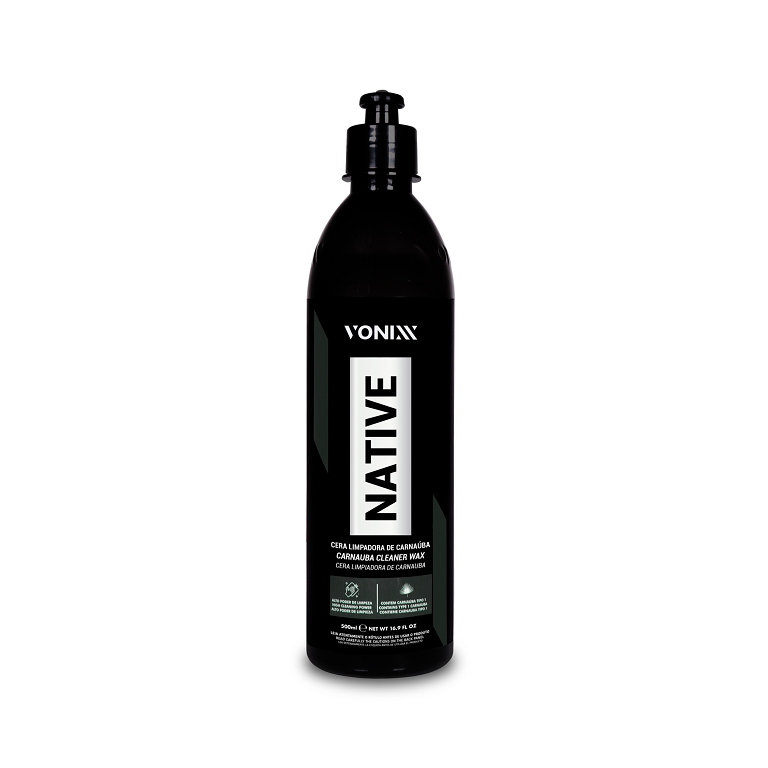 NATIVE Cleaner Wax - Cera Limpadora de Carnaúba - 500ml - VONIXX