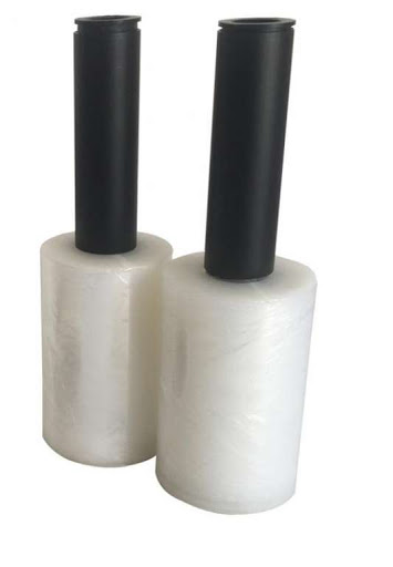 Plástico Filme c/ cabo - 10cm x 100M - 1 unidade - Stretch