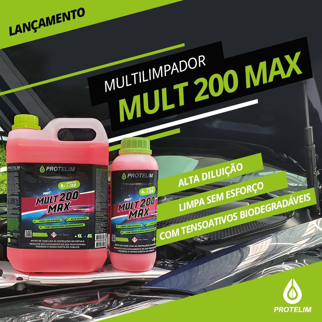 Prot Multi 200 MAX - Concentrado 1:150 - 5L - Protelim
