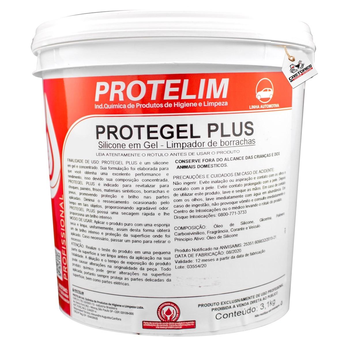 Protegel Plus - Silicone - 3,1kg - Protelim