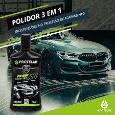 Protelim Polidor Extra Fine 3 em 1 - 500ml