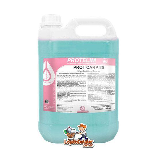 Protelim Prot Carp 20 - Limpa estofados e carpete concentrado - 5L