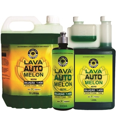 Shampoo Melon Automotivo Super Concentrado - 1:400 - Easytech