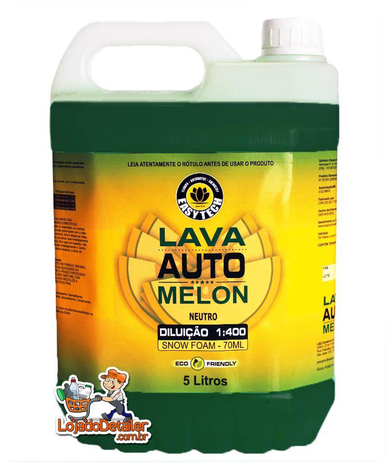 Shampoo Melon Automotivo Super Concentrado - 1:400 - Easytech - 5L
