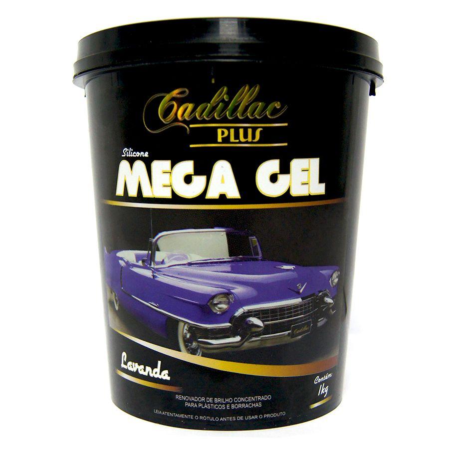 Silicone Mega Gel - 1KG - Cadillac