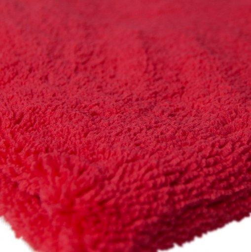 Toalha de Microfibra Super Fiber - 60x40cm - 370gsm -  Vermelha - Kers