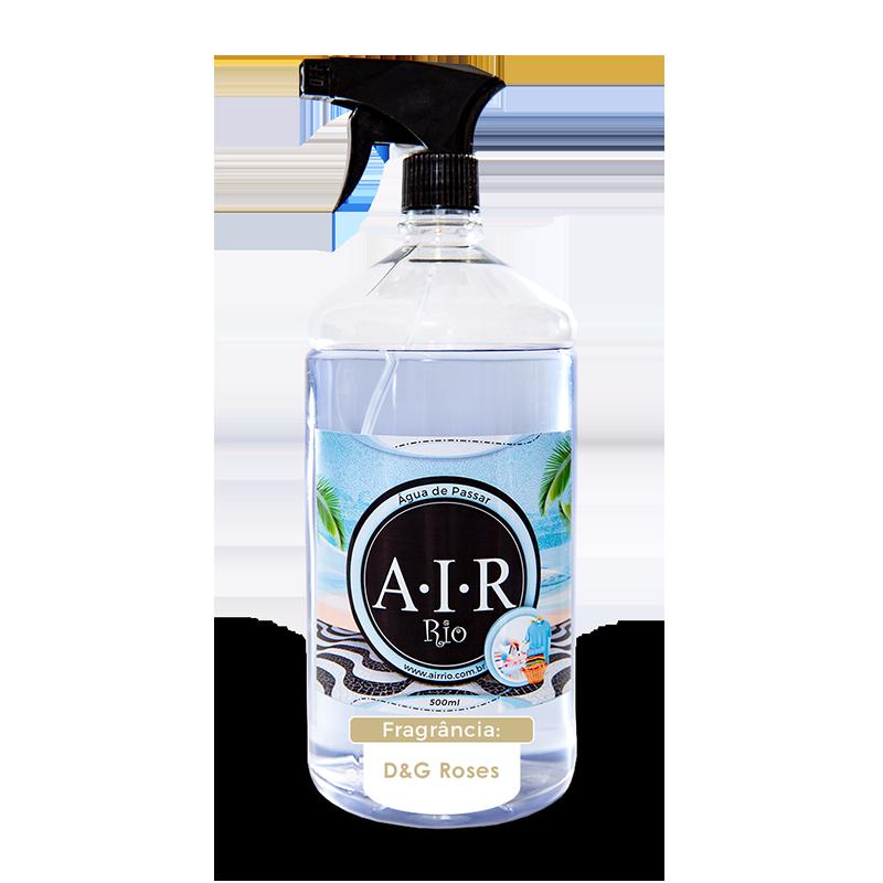 ÁGUA DE PASSAR - SPRAY PARA PASSAR ROUPAS AIR RIO - D&G Roses - Parfum - 500ML
