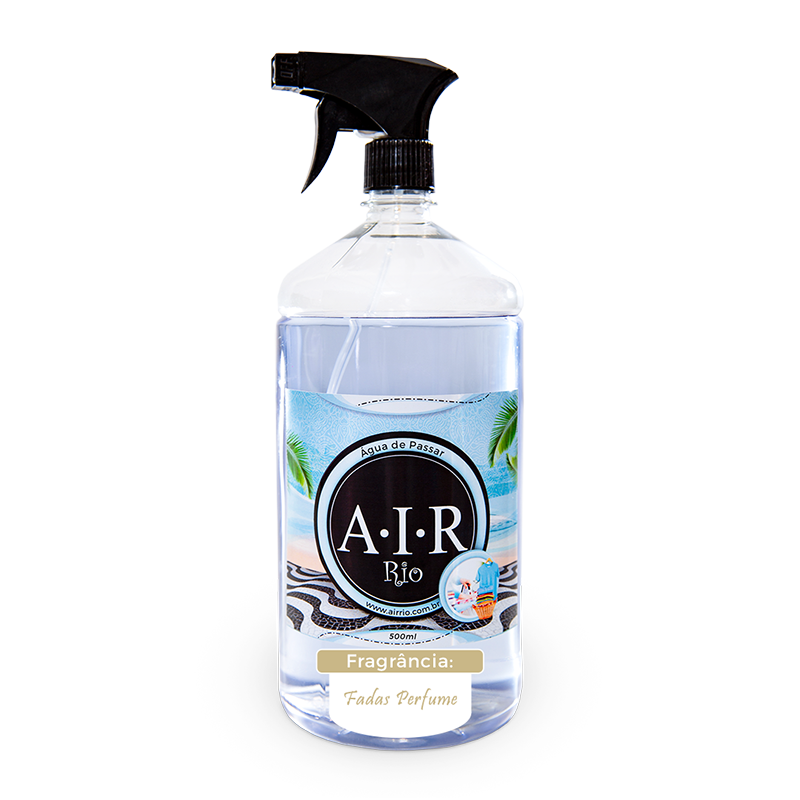 ÁGUA DE PASSAR - SPRAY PARA PASSAR ROUPAS AIR RIO - Fadas Perfume - 500ML
