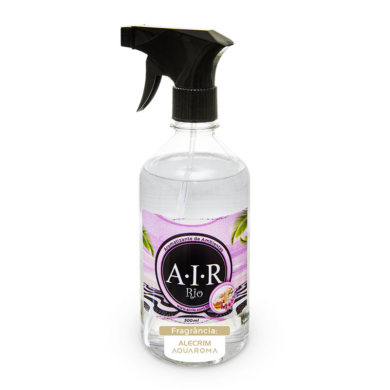 AROMATIZADOR DE AMBIENTE SPRAY AIR RIO - Alecrim - Aquaroma - 500ML