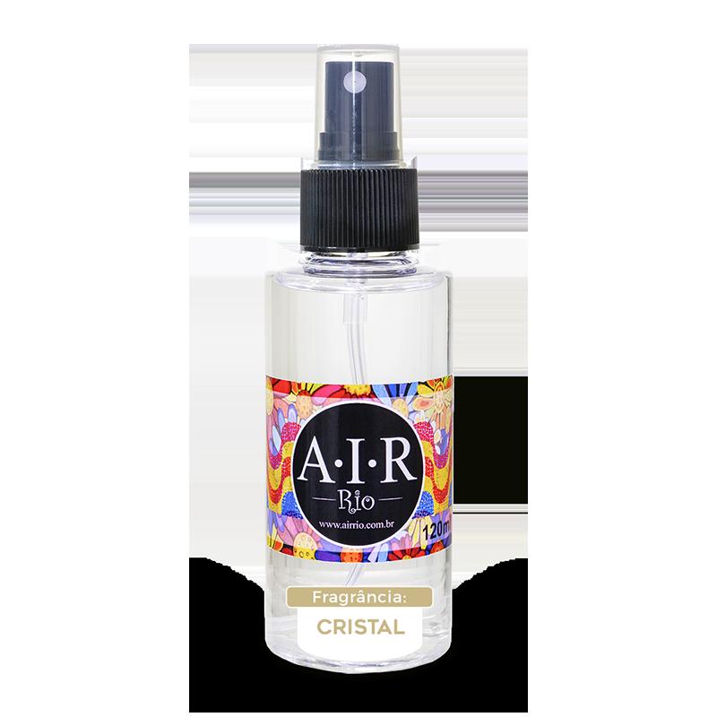 AROMATIZADOR DE AMBIENTE SPRAY AIR RIO - Cristal – Acquatico - 120ML